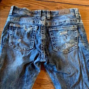 Women's BKE jeans.